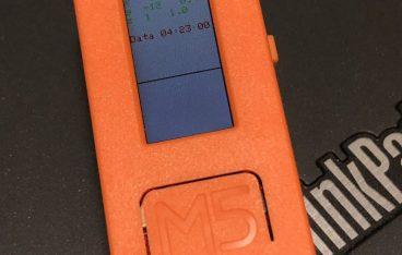 M5StickC の FactoryTest 表示